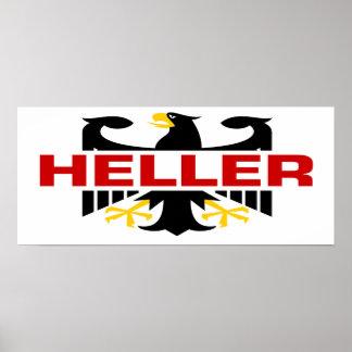 Heller Surname Poster