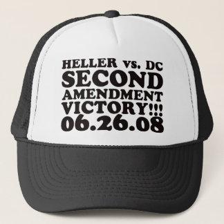 Heller v DC - 2nd Amendment Victory - Black Trucker Hat