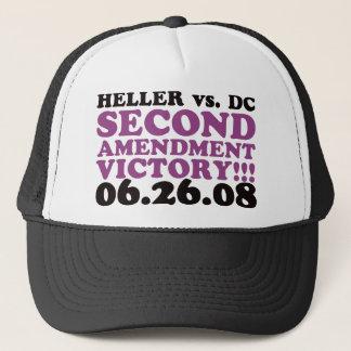 Heller v DC - 2nd Amendment Victory - Purple Trucker Hat