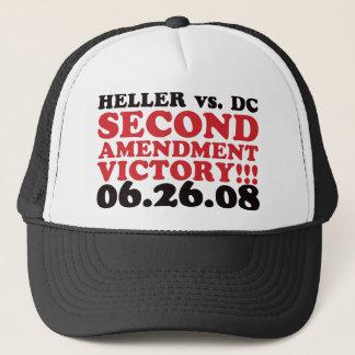 Heller v DC - 2nd Amendment Victory - Red Trucker Hat
