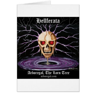 Hellferata T Bk Greeting Card