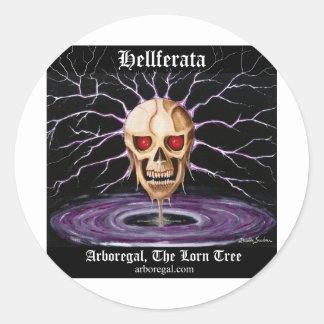 Hellferata T Bk Sticker