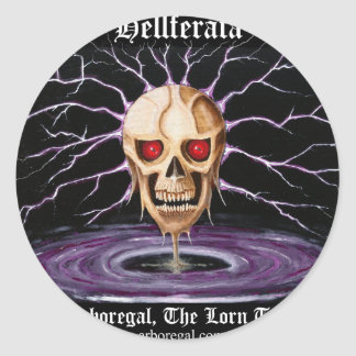 Hellferata T Bk Stickers