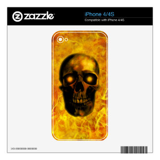 Hellfire Decal For The iPhone 4S