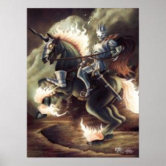 Hellfire Knight Poster