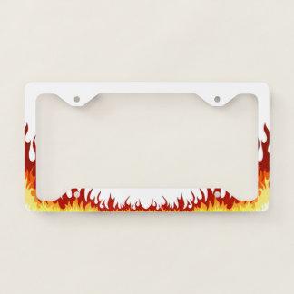 Hellfire License Plate Frame