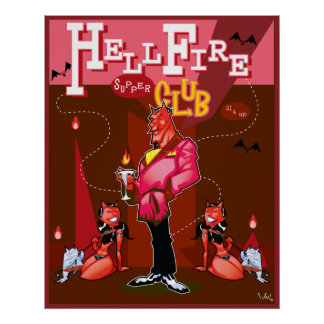 HellFire Supper Club Poster