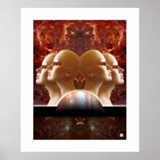 Hellfires Angels-Print Poster