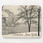 Hellgate Bridge, Astoria New York Mousepad