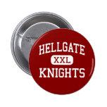 Hellgate - Knights - High - Missoula Montana 2 Inch Round Button