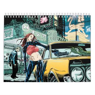 Hellhounds 2010/2011 calendario de pared