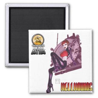 Hellhounds Shock Chimaera Hero Battles Magnet