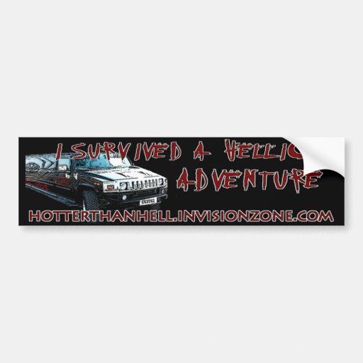 Hellion Adventure Bumpersticker Bumper Stickers