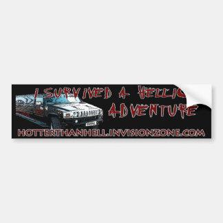 Hellion Adventure Bumpersticker Car Bumper Sticker