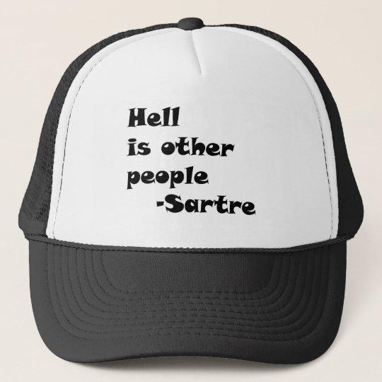 HellIsOtherPeople Trucker Hat
