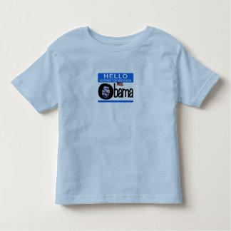 Hello 44th President Barack Obama T-shirt