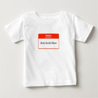 Hello Anita Goode Mann Baby T-Shirt