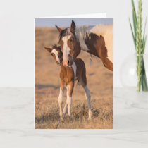 """""""Hello Baby"""" Note Card"""