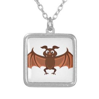 Hello bat personalized necklace