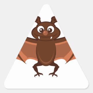Hello bat triangle stickers