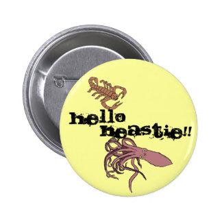 Hello Beastie!! 2 Inch Round Button