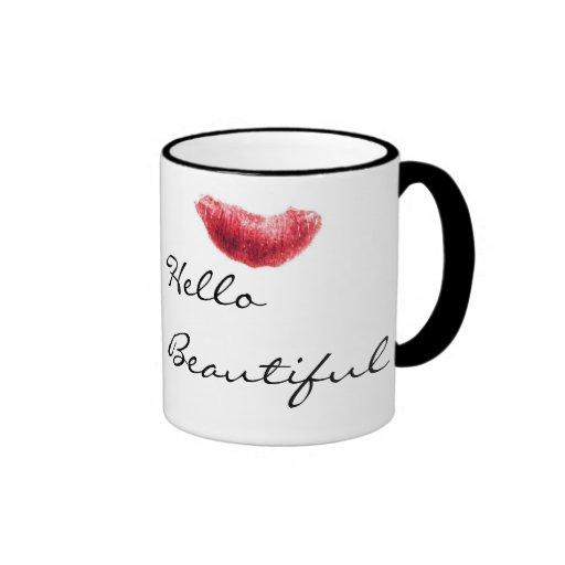 Hello Beautiful Mugs Zazzle