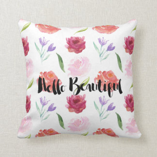 Hello Beautiful Pillows - Decorative & Throw Pillows Zazzle