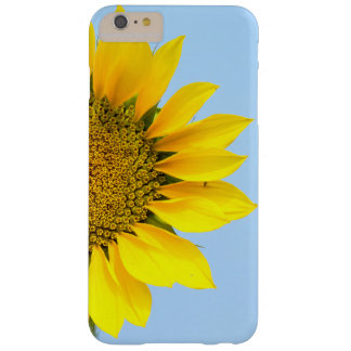 Hello Big Smile/Yellow Sunflower Against Blue Sky Barely There iPhone 6 Plus Case