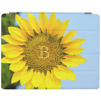 Hello Big Smile/Yellow Sunflower Against Blue Sky iPad Smart Cover