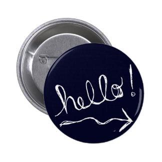 Hello Blue Button