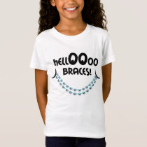 Hello Braces Blue Goodbye Candy, Gum and Soda T-Shirt