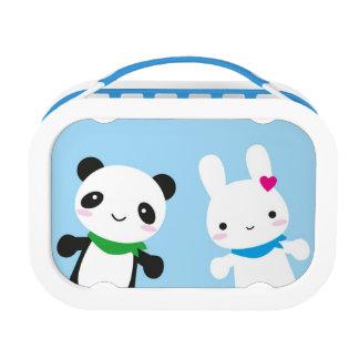 Hello Bunny and Panda Yubo Lunch Box