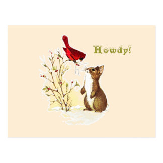 Hello Bunny Postcard