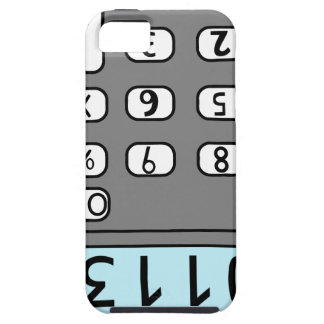 hello calculator iPhone SE/5/5s case