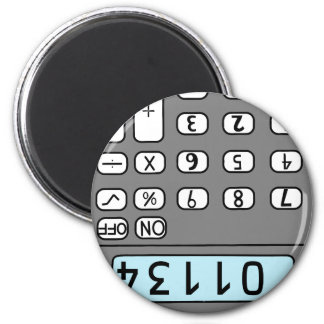 hello calculator magnet