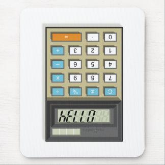 Hello Calculator Mouse Pad