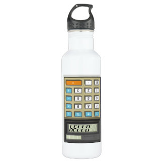 Hello Calculator Stainless Steel Water Bottle