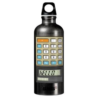 Hello Calculator Water Bottle