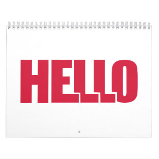 Hello Calendar