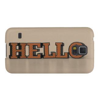 Hello Case For Galaxy S5