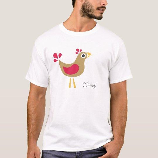 Hello Chicken! Funky Chicken Kid's T-Shirt