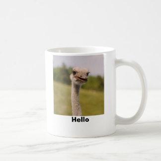 Hello Classic White Coffee Mug