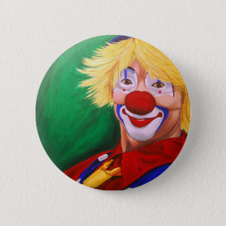 Hello Clown Button