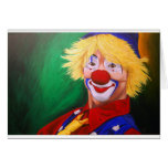 Hello Clown Greeting Cards