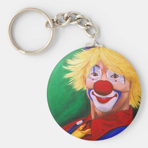 Hello Clown Keychain