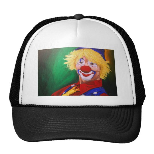 Hello Clown Trucker Hat