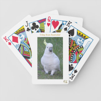 Hello Cocky Bicycle Playing Cards