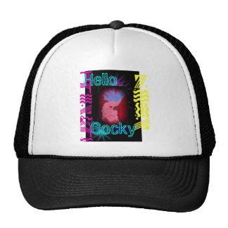 Hello Cocky Trucker Hat