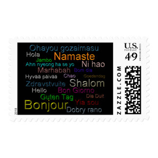 Hello  - collectable, stamp, postage