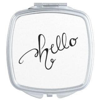 Hello Cosmetic Mirror